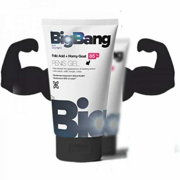 Big Bang Jel - Penis Büyütücü