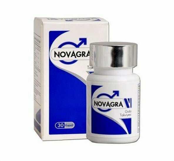 Novagra Sertleştirici ve Geciktirici 30 Kapsül