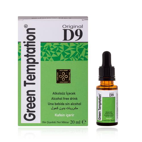 Green Temptation D9 Kadınlara Özel İstek Arttırıcı Damla