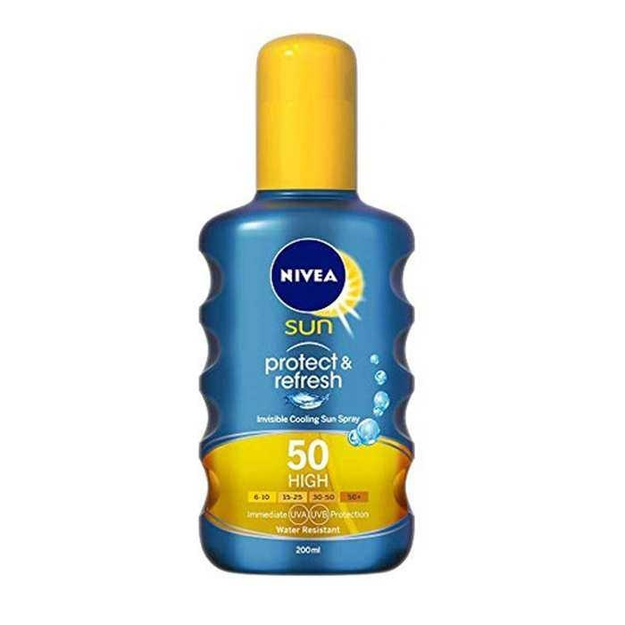 Nivea Sun Koruma & Ferahlık Transparan Güneş Kremi SPF50 200 ml