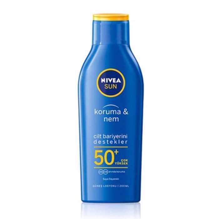 Nivea Sun Koruma & Nem Nemlendirici Güneş Sütü SPF 50+ 200 ml