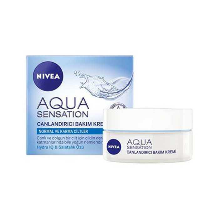 Nivea Aqua Sensation Canlandırıcı Yüz Temizleme Jeli 200 ml