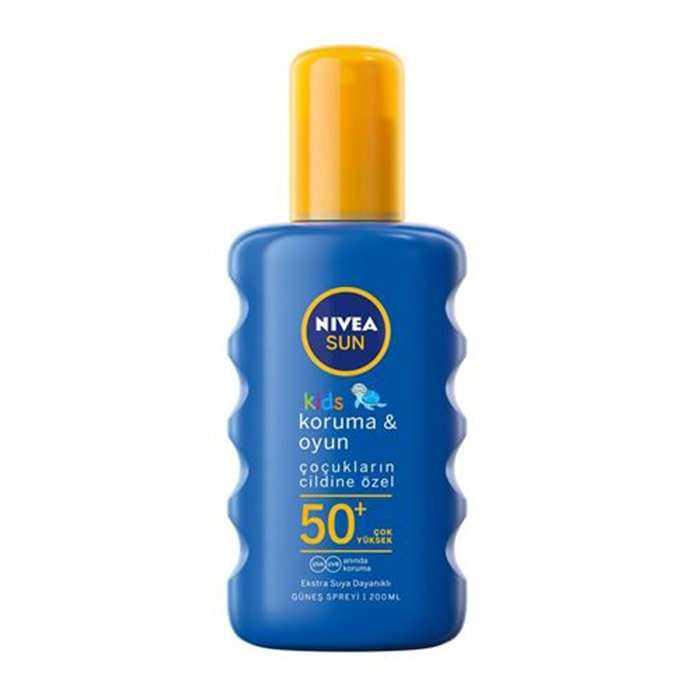 Nivea Sun Çocuk SPF50+ Nemlendirici Güneş Spreyi 200 ml