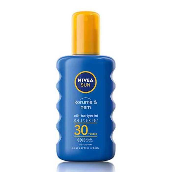 Nivea Sun Koruma & Nem SPF 30 Güneş Spreyi 200 ml