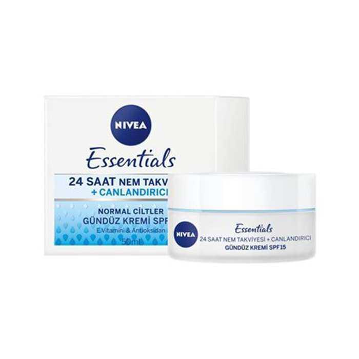 Nivea Essentials Günlük Canlandırıcı Krem Normal Ciltler 50 ml