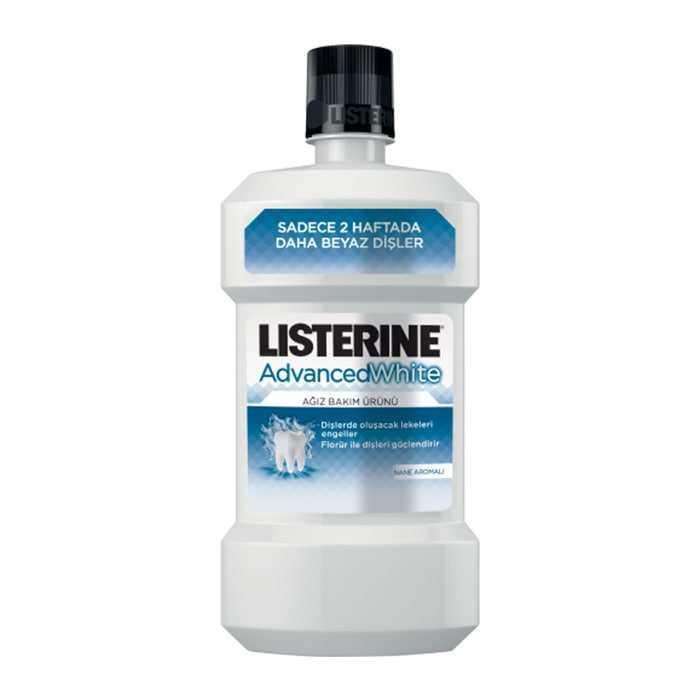 Listerine Advanced White Beyazlatıcı Gargara 500 ml