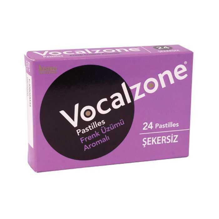 Vocalzone Frenk Üzümü Pastil 24 Adet