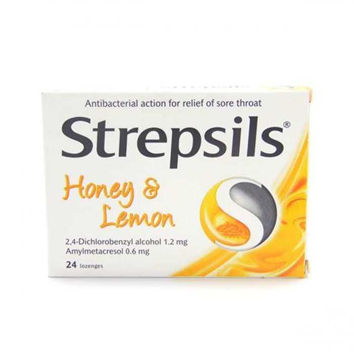 Strepsils Bal ve Limon Aromalı 24 Pastil