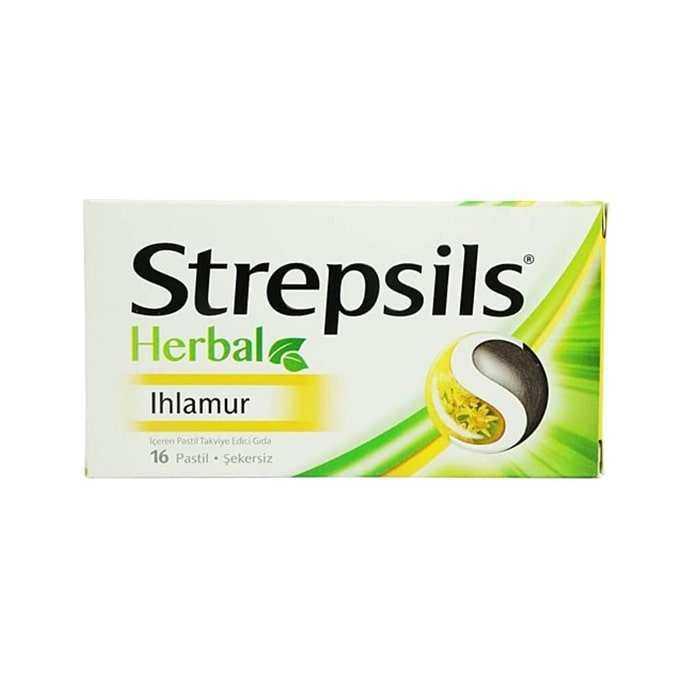 Strepsils Herbal Ihlamur Aromalı 16 Pastil