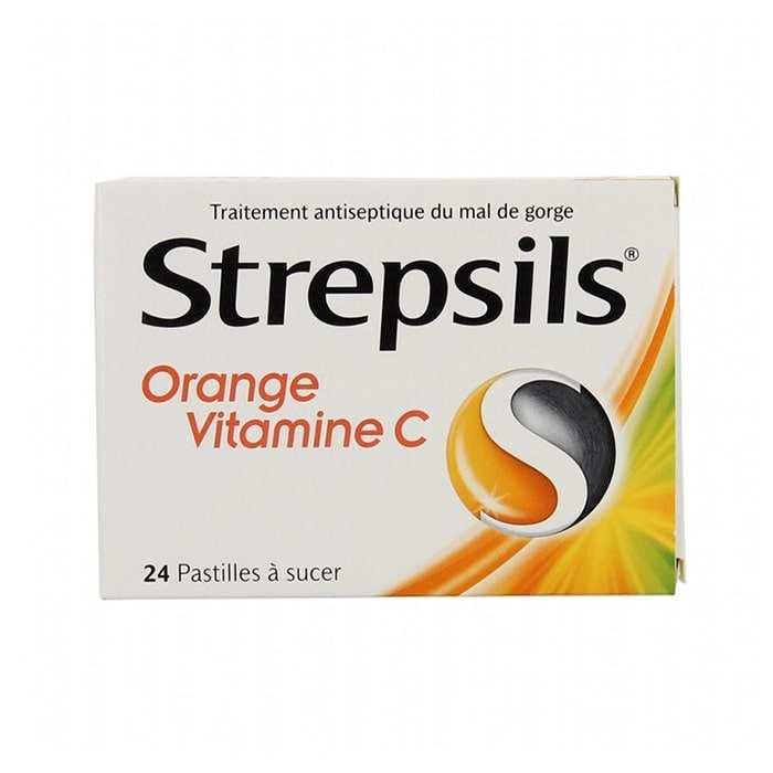 Strepsils Portakal & C Vitamini Aromalı 24 Pastil