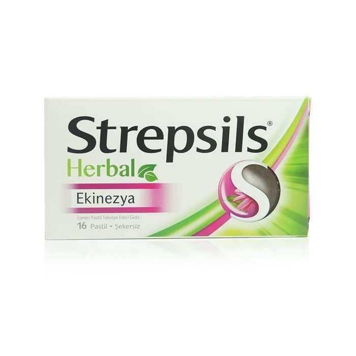 Strepsils Herbal Ekinezya Aromalı 16 Pastil
