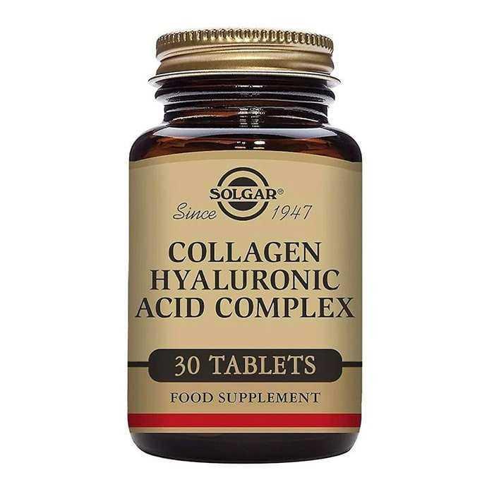 Solgar Hyaluronic Acid Collagen Complex 30 Tablet