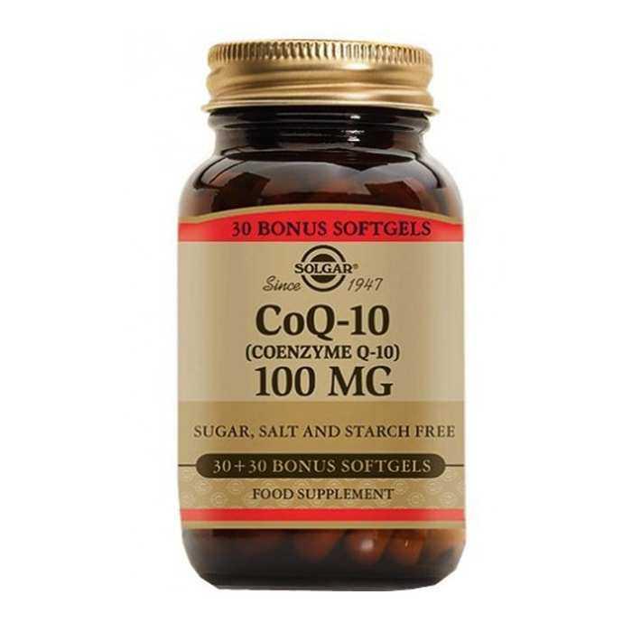 Solgar Coenzyme Q-10 100 mg 30 Softgel