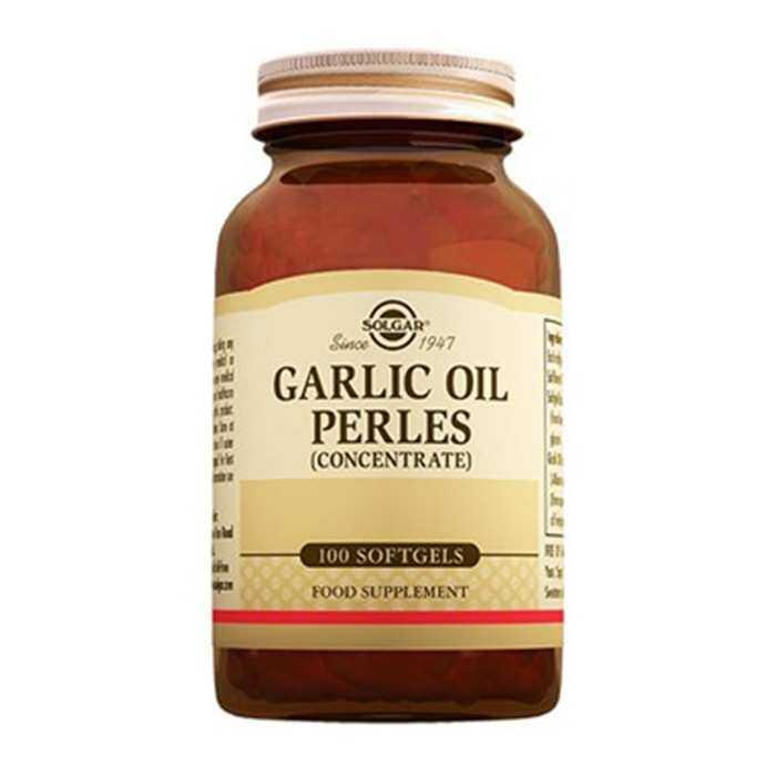 Solgar Garlic Oil Perles 100 Kapsül