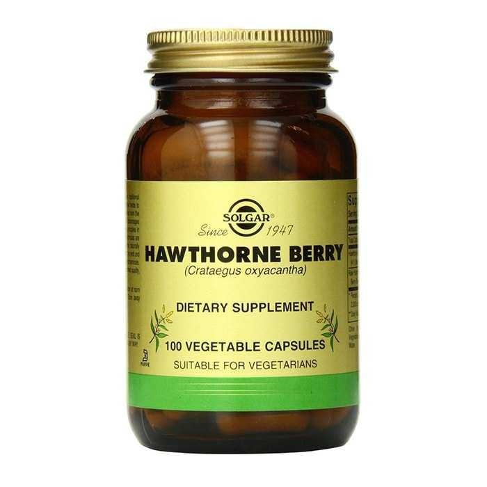 Solgar Hawthorne Berry 100 Kapsül