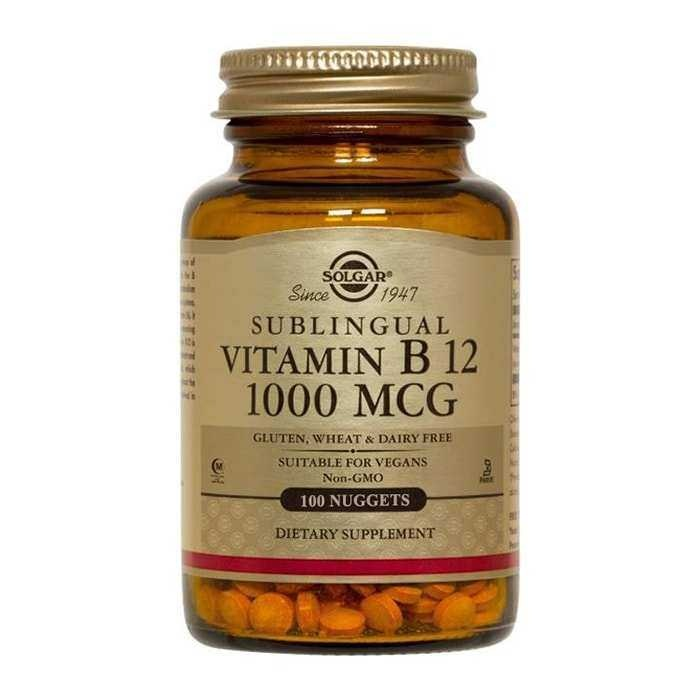 Solgar Vitamin B12 1000 mcg 100 Tablet