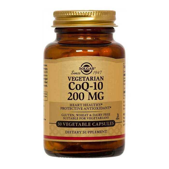 Solgar CoQ-10 200 Mg 30 Kapsül