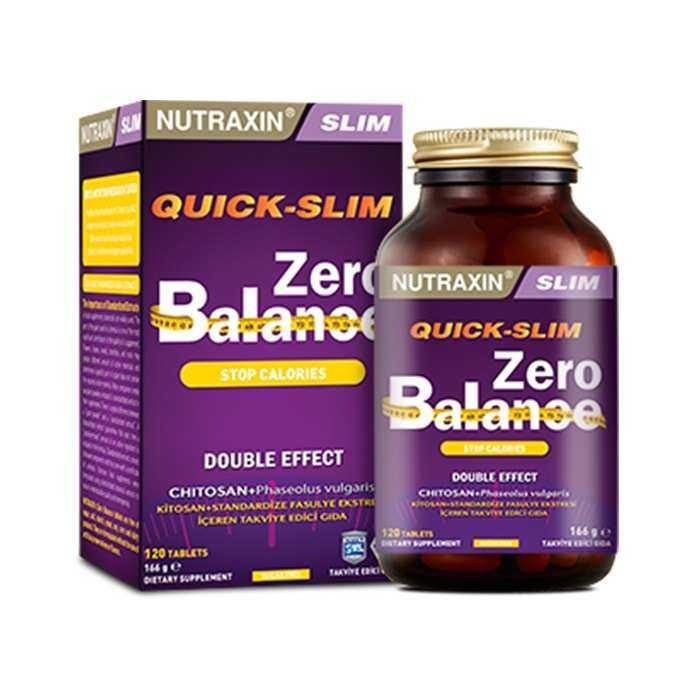 Nutraxin Quick Slim Zero Balance 120 Tablet