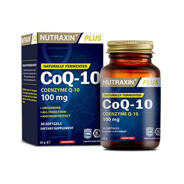 Nutraxin CoQ-10 100 mg 30 Softgel