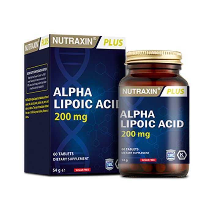 Nutraxin Alpha Lipoic Acid 200 mg 60 Tablet