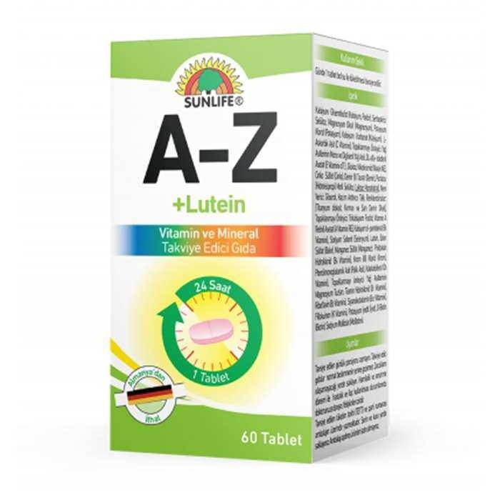 Sunlife A-Z Vitamin Lutein Tablet