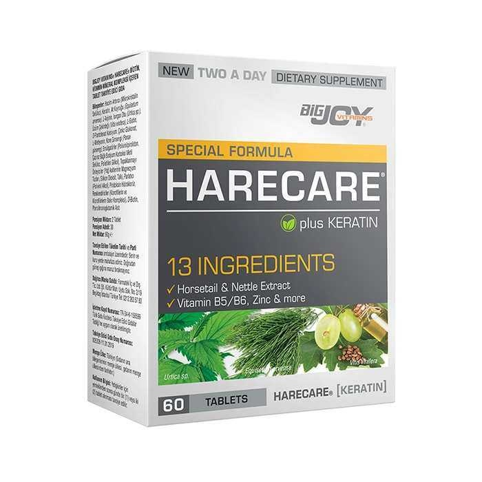 Big Joy Harecare (Keratin) 60 Tablet