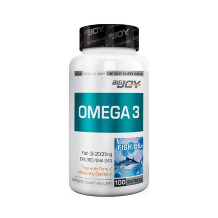 Big Joy Omega-3 50 Softgels