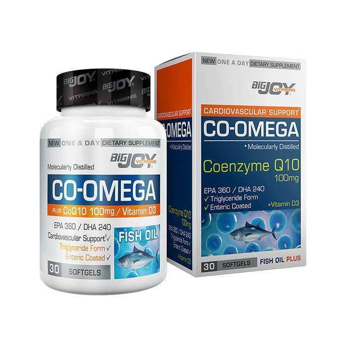 Big Joy Co-Omega 30 Softgels