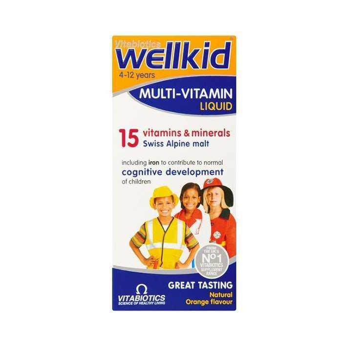 Wellkid Multivitamin Liquid Şurup 100 ml