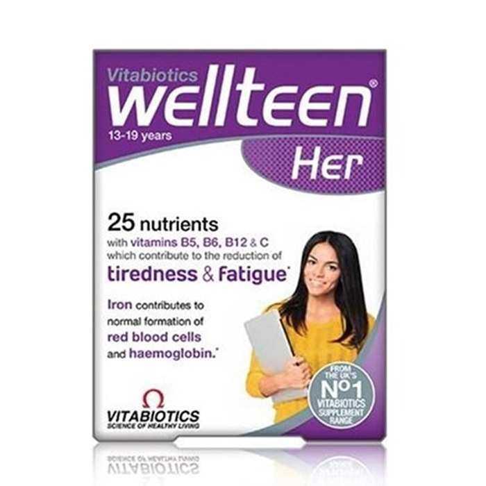 Wellteen Her 13-19 Years Vitabiotics 30 Tablet