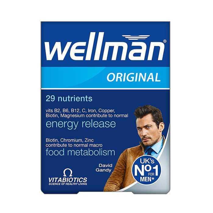 Vitabiotics Wellman Original 30 Kapsül