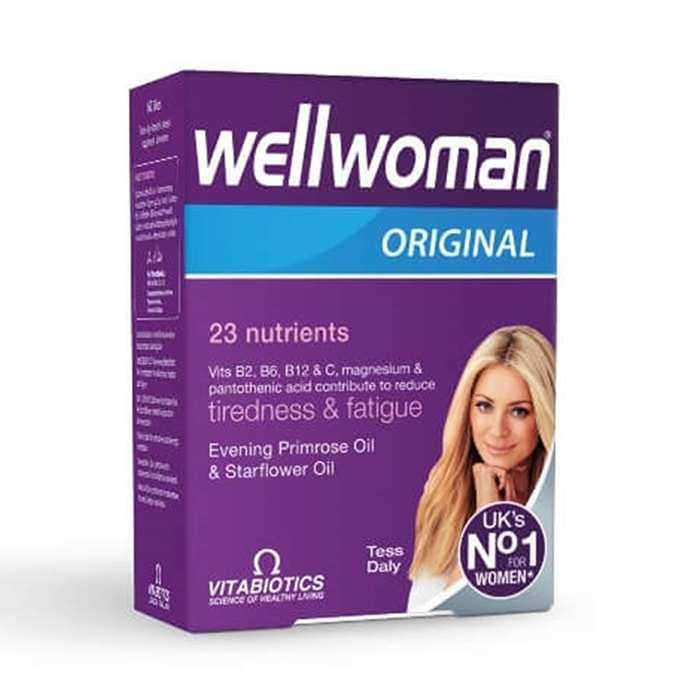 Vitabiotics Wellwomen Original 60 Kapsül