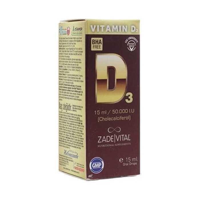 Zade Vital D3 Vit Oral Damla 15 ml