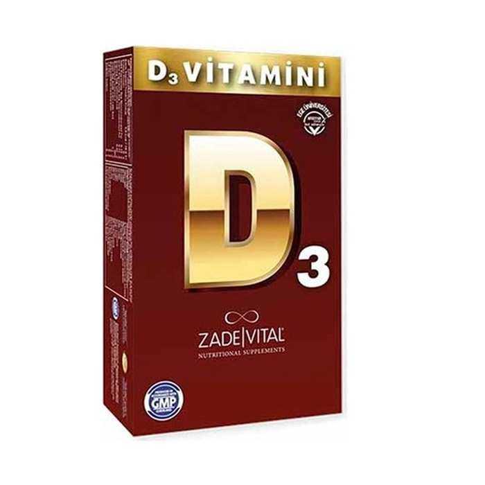 Zade Vital D3 Vitamini 500 mg 30 Kapsül