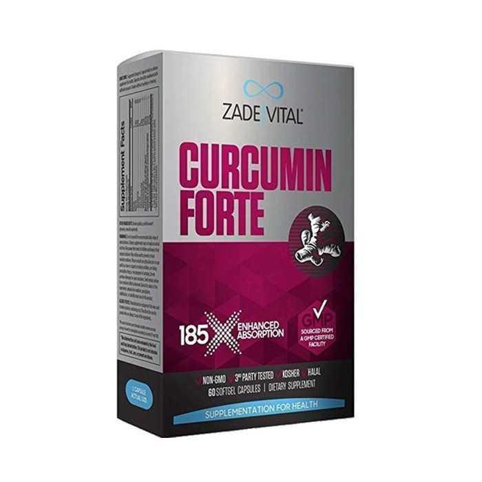 Zade Vital Curcumin Forte Zerdeçal Yağı 1000 mg 40 Kapsül