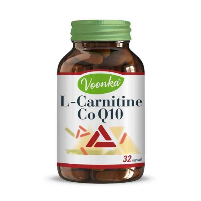 Voonka L Carnitin & CoQ-10 32 Kapsül