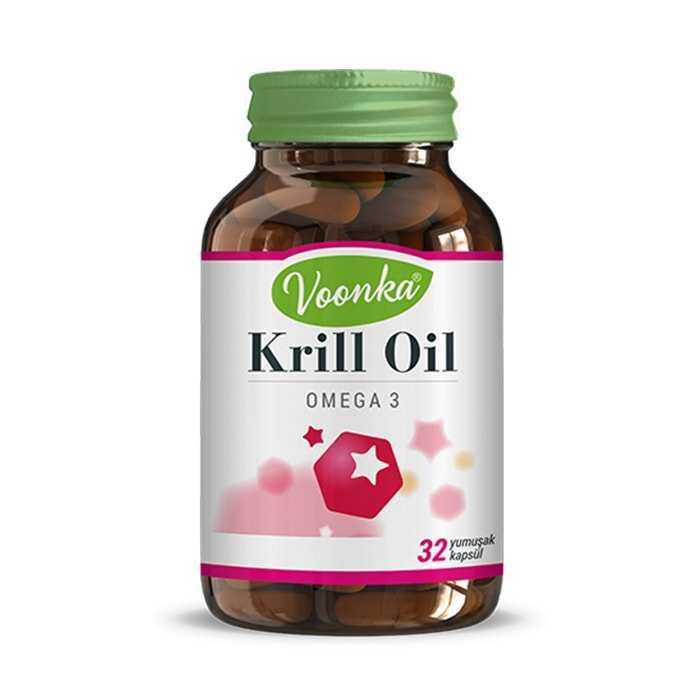 Voonka Krill Oil 32 Kapsül