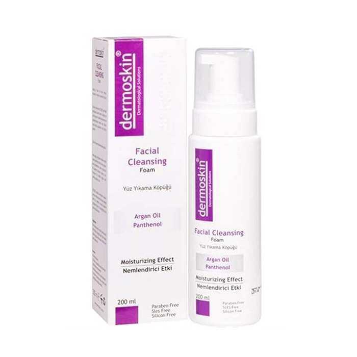 Dermoskin Facial Cleansing Foam Yüz Yıkama Köpüğü 200 ml