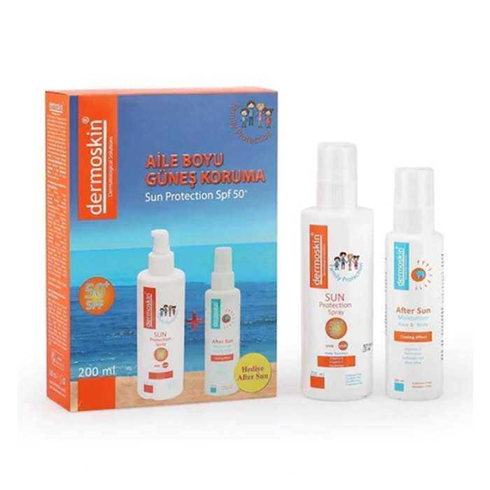 Dermoskin Sun Protection Spf 50 Aile Boyu - After Sun Hediyeli