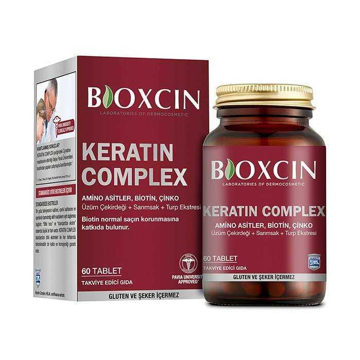 Bioxcin Keratin Complex 500 mg 60 Tablet