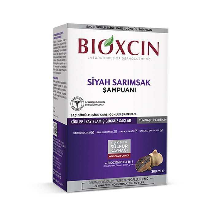 Bioxcin Siyah Sarımsak Şampuanı 300 ml