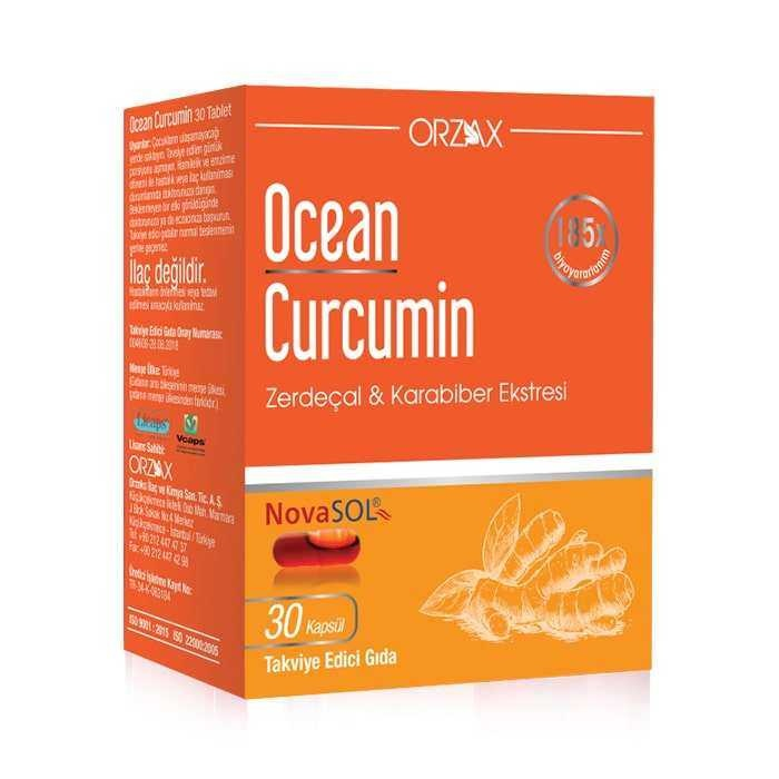 Ocean Curcumin 30 Kapsül