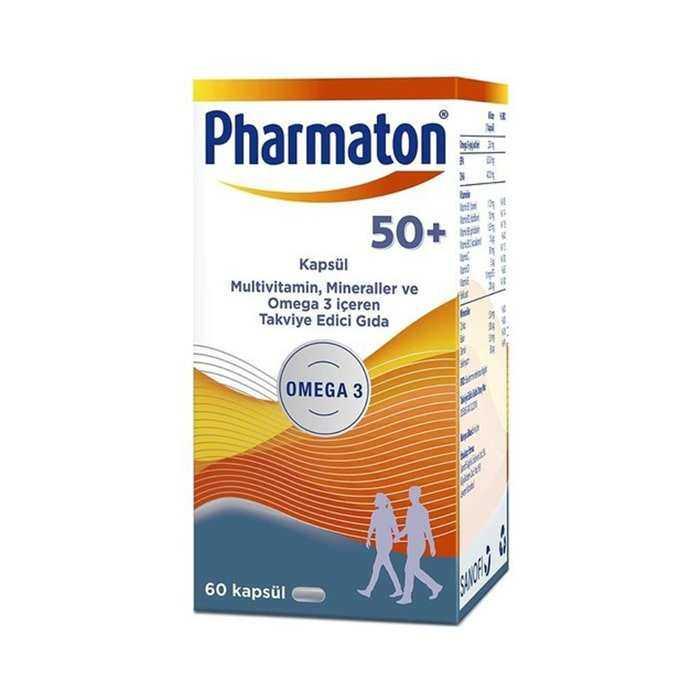 Pharmaton 50+ 60 Kapsül