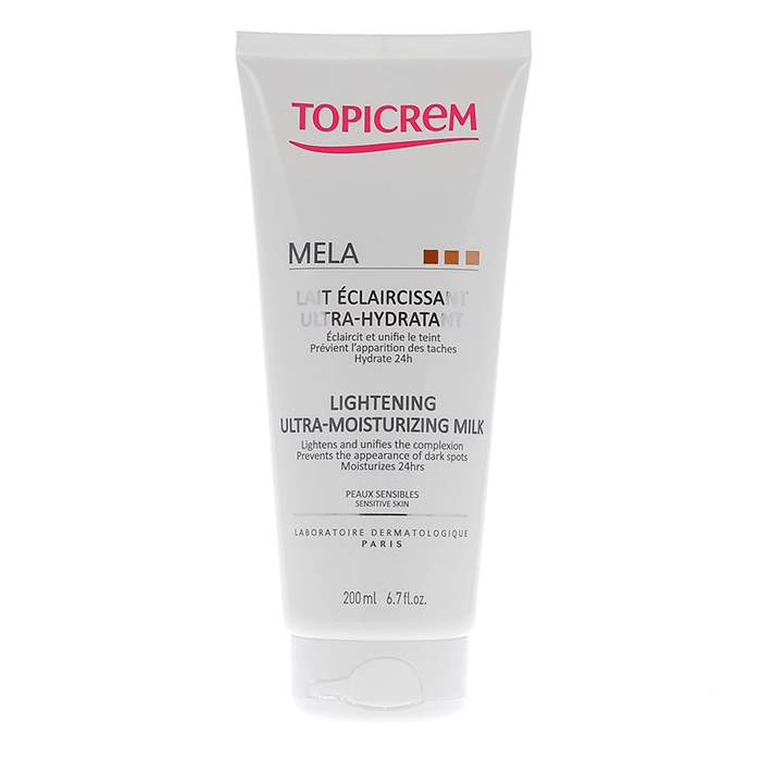 Topicrem Mela Lightening Ultra-Moisturizing Milk 200 ml