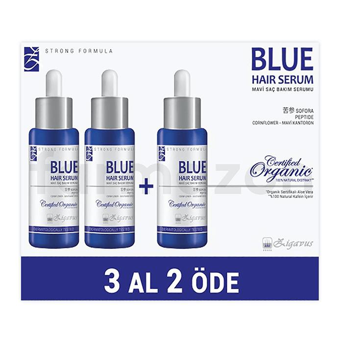 Zigavus Mavi Saç Serumu 3 Al 2 Öde 33 ml