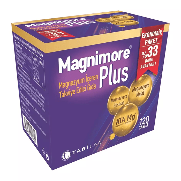 Magnimore Plus 120 Tablet