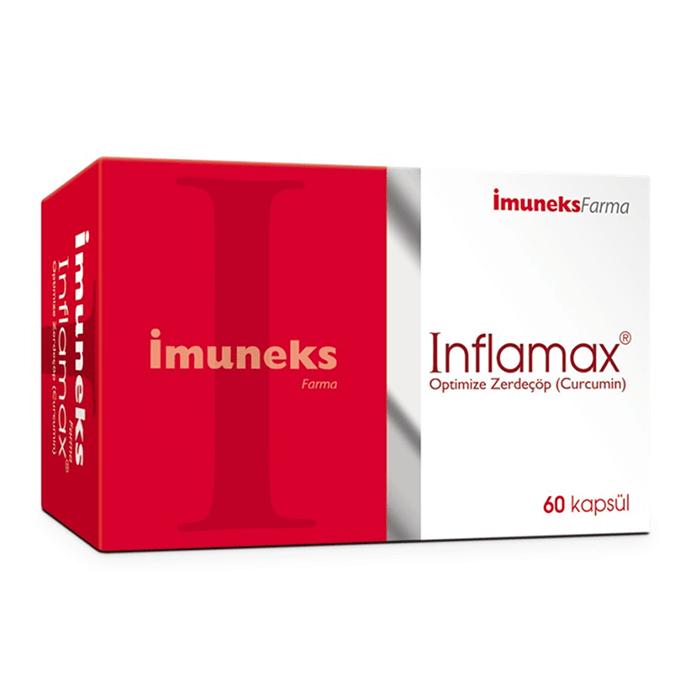 İmuneks İnflamax Optimize Zerdeçöp (Curcumin) 60 Kapsül