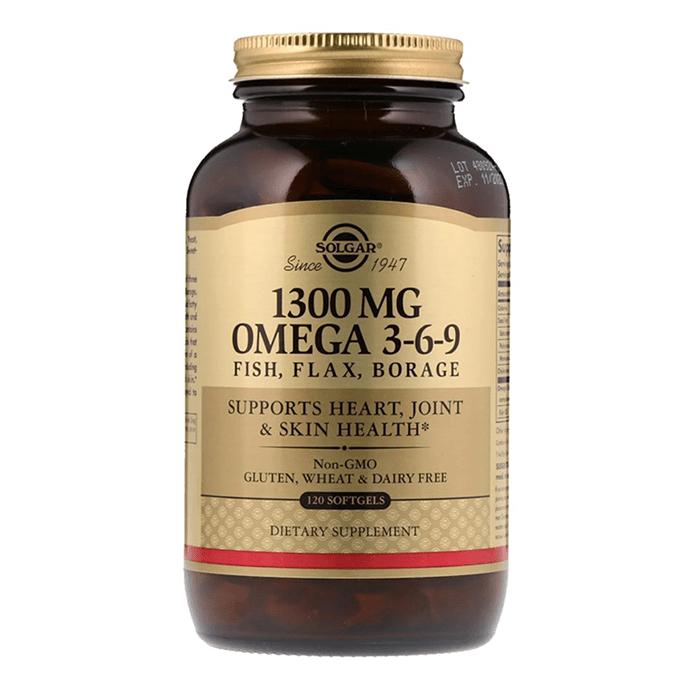 Solgar Efa 1300 mg Omega 3-6-9 60 Softgel