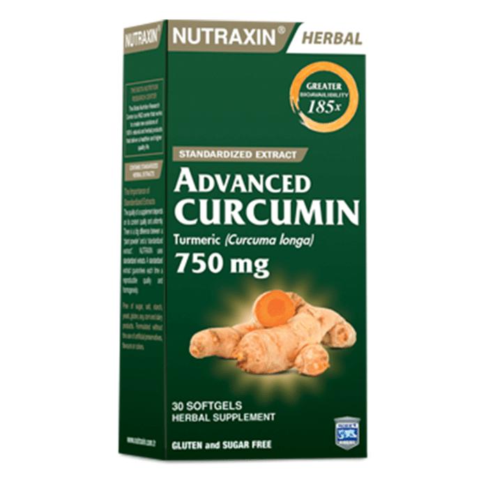 Nutraxin Advanced Curcumin 750 mg 30 Softgel