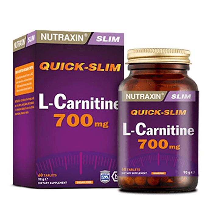 Nutraxin L-Carnitine 60 Kapsül